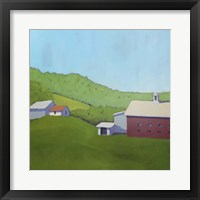 Framed Primary Barns VI