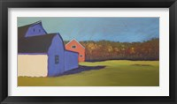 Framed Primary Barns VIII