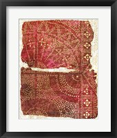 Framed Glimmer Sari I