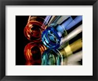 Framed Colourful Plastic Glasses 2