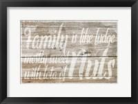 Framed Family is like Fudge