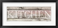 Framed Kitchen