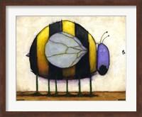 Framed Bee