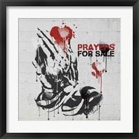 Framed Prayers for Sale