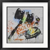 Framed Sold Out