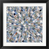 Framed Water Mosaic