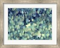 Framed Blue Green Blues