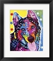 Framed Husky