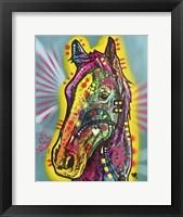 Framed Gift Horse
