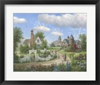Framed Sky Castles