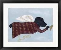 Framed Love Labrador
