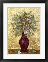 Framed Bouquet In Vase 1