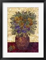 Framed Bouquet In Vase 2