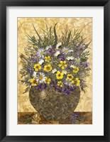 Framed Bouquet In Vase 3