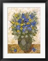 Framed Bouquet In Vase 4