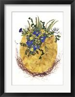 Framed Flower Egg