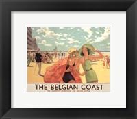 Framed Belgian Coast