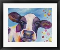 Framed Mrs Cow