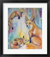 Framed Psychedelic Foxes