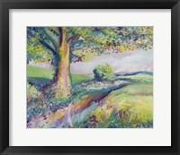 Framed Tranquil Tree 2