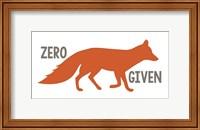 Framed Fox Zero