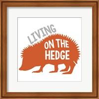 Framed Hedgehog