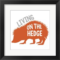 Framed Hedgehog