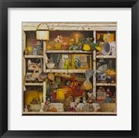 Framed Old Cupboard