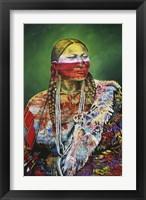 Framed Arapaho Queen 1