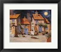 Framed La Luna Gialla