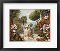 Framed Sedia Terrazza e Sgabello