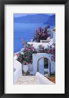 Framed Blu Di Grecia