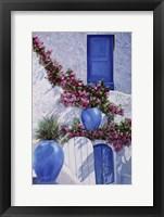 Framed Vasi Blu