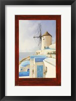 Framed Il Mulino Oltre La Finestra