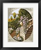 Framed Ovale Scala Con Vaso