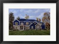 Framed La Casa Blu
