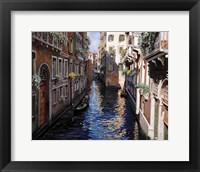 Framed Venezia Blu