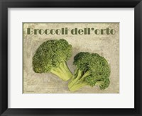 Framed Broccoli Dell'orto