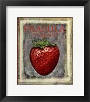 Framed Fragola Fragraria