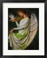 Framed Celtic Angel