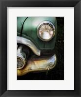 Framed Vintage Car