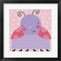 Framed Ladybug 2