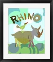 Framed Rhino