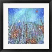 Framed Foxglove Meadows