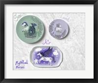 Framed Mythical Horses