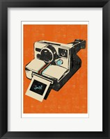 Framed Instamatic Camera