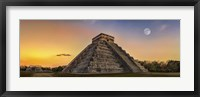 Framed Chichen Itza