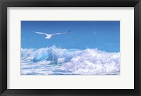 Framed Gull In The Waves