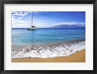 Framed Sailing Near Maui