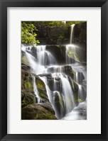 Framed Smoky Mountains Waterfall